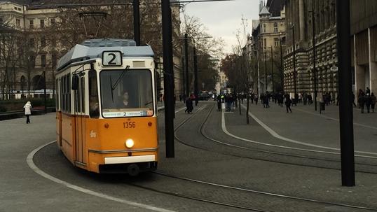 Budapeszt - transport publiczny