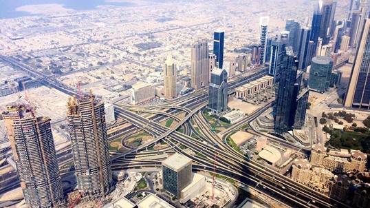 124 piętro Burj Khalifa – wrażenia